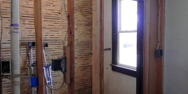 BD - Before Drywall... #Baltimore Rehabbing Orkey