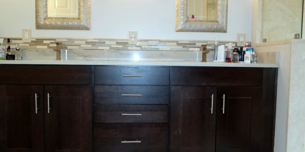 cabinet and flooring